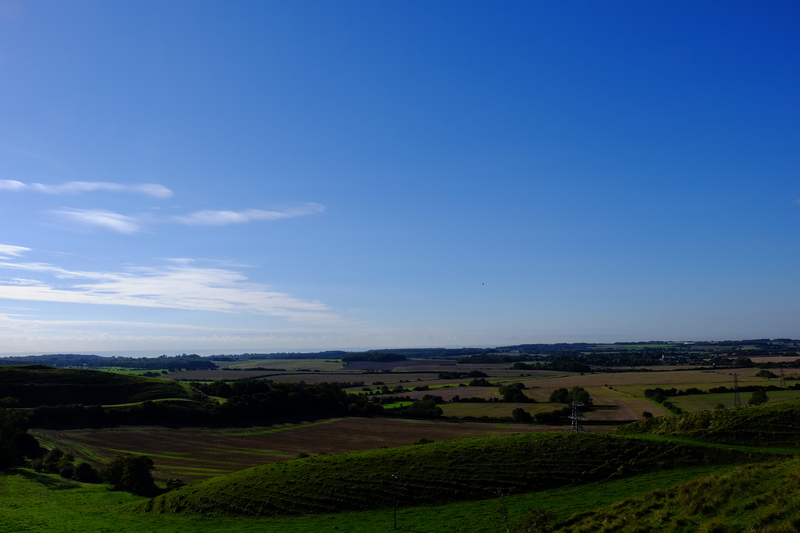 View from Postling Downs.