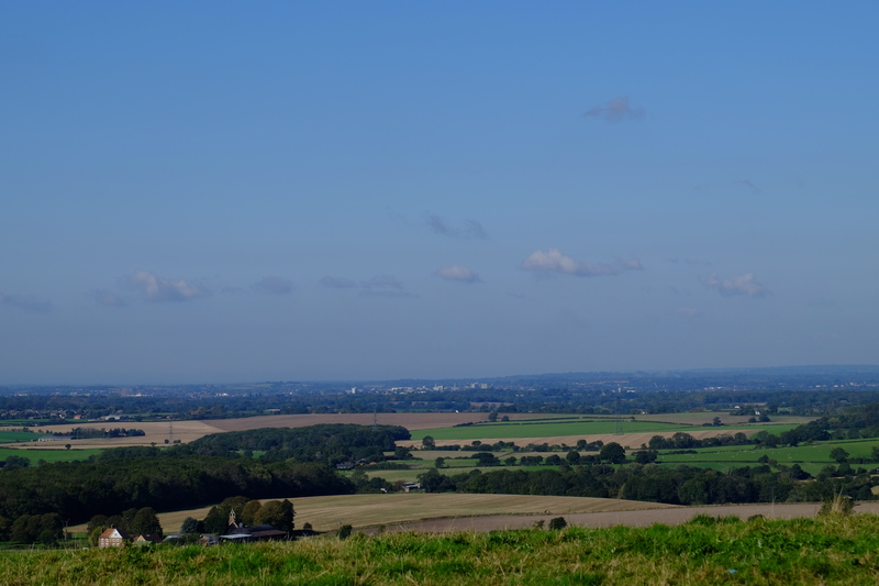 Ashford in the distance.